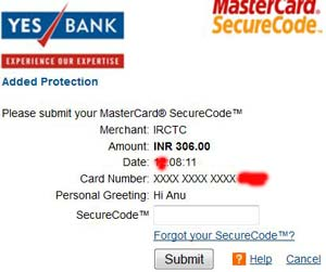 yes-bank-debit-card-registration-page